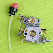Carburetor with Primer Bulb For Poulan Craftsman S1970 P3314 SM4218AV 545040701