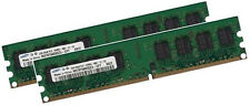 2x 2gb 4gb ram Mémoire Asus p5ld2-v carte mère pc2-6400 800mhz 240pin