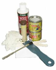 PC Products Rotted Wood Repair Kit with Water-Based Hardener, and Epoxy Paste an