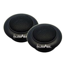 "In Phase SXT1 1/2"" inch Neodymium Dome Tweeter 200 Watts Max Each"