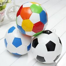 Soft Indoor Sponge Football Soccer Ball Fabric Toy For Baby Boy Children 14.4cm