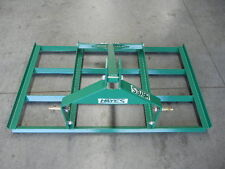 HAYES 5FT TRACTOR LEVELLING SMUDGE BAR - 3 POINT LINKAGE (3PL)