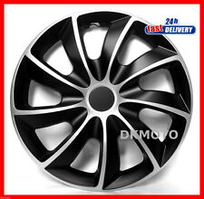 "4 x15"" Wheel trims for SUZUKI SWIFT Brand New FULL set    black/silver"