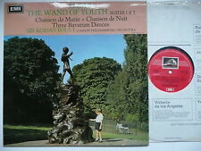 BOULT CONDUCTS ELGAR THE WAND OF YOUTH SUITES NOs 1 & 2 LPO EMI ASD 2356