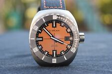 G. Gerlach Otago Automatic 44mm Stainless Orange Dial Mens Watch