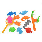 New Plastic Fishes Magnetic Fishing Game Toys Rod Hook Catch Set For Kid Child