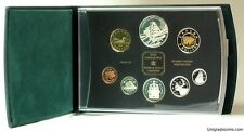 CANADA  2003   PROOF DOUBLE DOLLAR  SET  ***8 COINS***