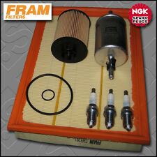 Service kit vauxhall corsa c 1.0 12v FRAM Filtres à Huile Air Carburant Bougies (2000-2003)