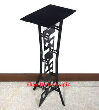 BLACK Appearing METAL Folding Table Magic Trick Close Up Party Stage Accessories