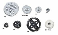 LEGO 8 pc gear axle lot SET Technic Mindstorm nxt ev3 motor power functions pack