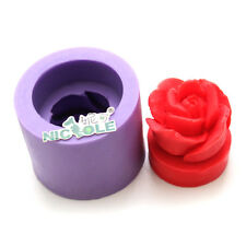 Rose Flower Silicone Candle Mold Handmade Craft Resin Soap Molds Rubber Mould