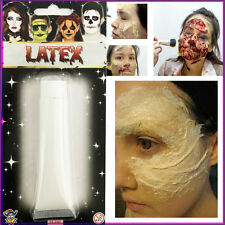 Liquid Latex 30ml Halloween Makeup Horror Zombie Fancy Dress Paint Fresh Scar