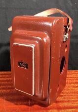 Rare Vintage ZEISS IKON CAMERA CASE 1250/16 for IKOFLEX FAVORIT TLR Hardly USED