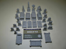 28mm Graveyard Cemetery set, Horror / Historical / Fantasy / Bolt Action