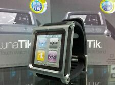LunaTik Multi-Touch Silicon Wrist Watch Band for iPod Nano 6th generation Gray