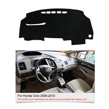 For Honda Civic 8th 2006-2010 DashMat Dashboard Cover Dash Mat Sun Pad Fly5D