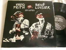 FRED FRITH & RENE LUSSIER Nous Autres Chris Cutler Victo LP Henry Cow
