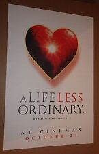 "MOVIE POSTER~A Life Less Ordinary 1997 Cameron Diaz Ewan McGregor 21x32"" Promo~"