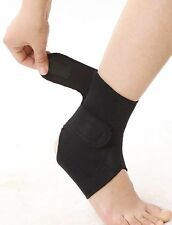 Tourmaline self heating Magnetic Ankle wrap for pain relief, injury, sprain,