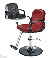Takara Belmont DECORA Styling Chair Vinyl Chair Back Cover (CLEAR)