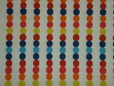 "HARLEQUIN  CURTAIN FABRIC DESIGN ""Abacus"" 0.75 METRE BRIGHT MULTI 100% COTTON"