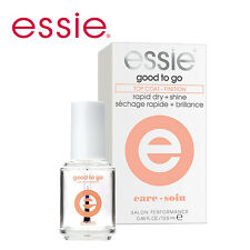 [ESSIE] Good To Go Nail Lacquer Top Coat Rapid Dry & Shine 13.5ml Full Size NEW