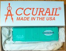 Accurail HO #3640.9 NYC 40' Double Door Steel Boxcar Rd #70582 (kit Form)