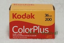 10 rolls KODAK COLORPLUS 200 135 Color film 35mm 36exp