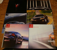 Original 2003 2004 2005 2006 2007 Pontiac Grand Prix Sales Brochure Lot of 6