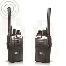 2X LCD Bambini Mini Walkie-Talkie Portatile due-vie Elettronica Radio Set Torcia