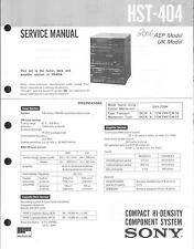 Sony  Original Service Manual für HST-404
