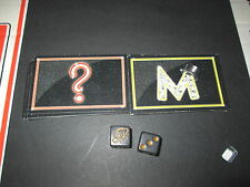 2013 Monopoly Empire Dice & Chance & Community Chest Cards  Replacement