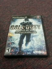 Call of Duty World at War -- Final Fronts (Sony PlayStation 2, 2008)