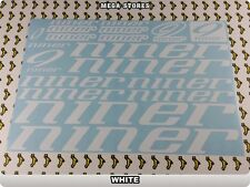 NINER Stickers Decals Bicycles Bikes Cycles Frames Forks Mountain MTB BMX 59UB