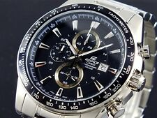 CASIO EDIFICE Chronograph 100M EF547D-1A1 EF-547D-1A1 Free Ship!