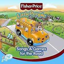 Various Artists : Fisher-Price Songs & Games for the Road CD (2002)***NEW***