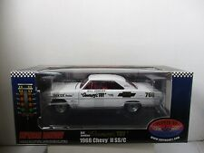 """1/18 SCALE SUPERCAR COLLECTIBLES """" GRUMPYS TOY """" 1966 CHEVY II SS/C"""