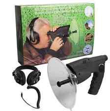 Geräuschverstärker Digitalspeicher Zieloptik Richtmikrofon + Zubehör Set S6
