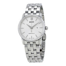 Mido XS Baroncelli Silver Dial Ladies Watch M0132101103100
