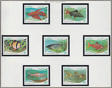 VIETNAM N°816/822** Poissons Tropicaux, 1987 Vietnam 1831-1837 Tropical fish MNH