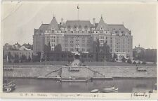 Empress Hotel CPR Victoria British Columbia BC - Litho Unused - Good