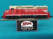47502 Atlas N Scale GP30 CB & Q  NIB