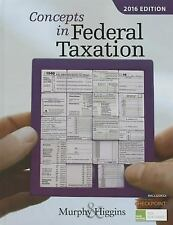 Concepts in Federal Taxation 2016 (with H&R BlockTM Tax Preparation Software C..