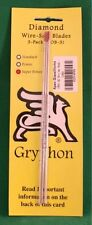 Gryphon OMNI 2 Wire Saw SUPER POWER Turbo Coarse Diamond Blade 3-Pack 1