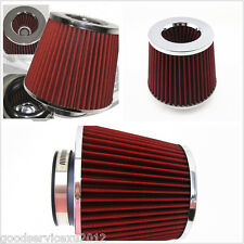 "Mushroom Head Design 3"" 75mm Automobile High Flow Intake Air Filter Modified Kit"