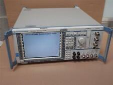 R&S Rohde Schwarz Universal Protocol Radio Communication Analyser Tester CRTU-RU