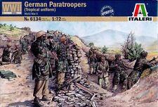 Italeri - German paratroopers - tropical uniform (Worl War II) - 1:72