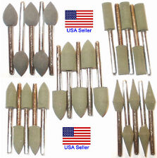25pcs Different Ultra Fine Rubber Grinding Bits for Rotary Tools or Dremel