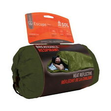 Adventure Medical Kit SOL Series Escape Heat Reflective Bivvy OD Green 0140-1229