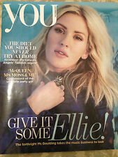 ELLIE GOULDING PHOTO COVER INTERVIEW UK YOU MAGAZINE DECEMBER 2015 NEW